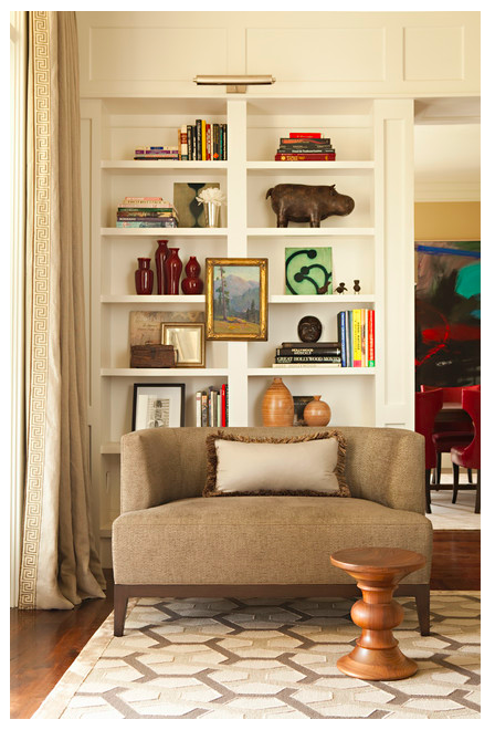 Benjamin Moore Swiss Coffee, via #RoomLust