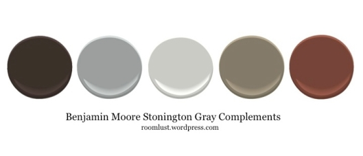 Benjamin Moore Stonington Gray ideas, via #RoomLust