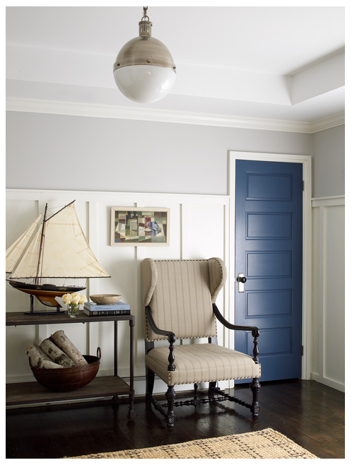 Benjamin Moore Stonington Gray, via #RoomLust